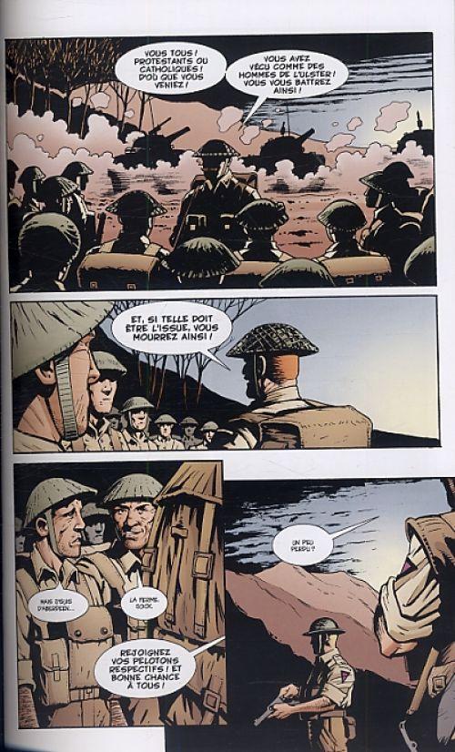 Histoires de guerre T1, comics chez Panini Comics de Ennis, Higgins, Gibbons, Erskine, Lloyd, Weston, Rambo, Van Fleet