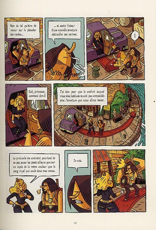 Le Roi sans fou, bd chez Manolosanctis de Cachinho