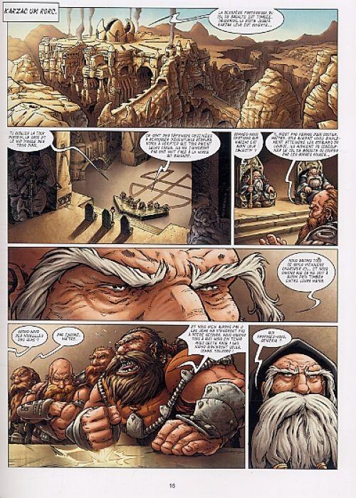 Les Rois forgerons T1 : Le Sceau de Karzac Um Rork (0), bd chez Soleil de Jarry, Tregis, Martinez