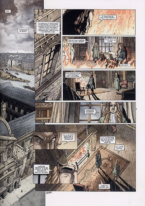 Le sang du dragon T5 : Ce bon vieux Louis ! (0), bd chez Soleil de Istin, Hugonnard-Bert, Crety, Cordurié, Demare