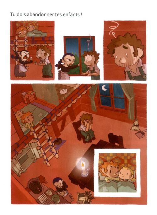 Hansel et Gretel, bd chez Bamboo de Domecq