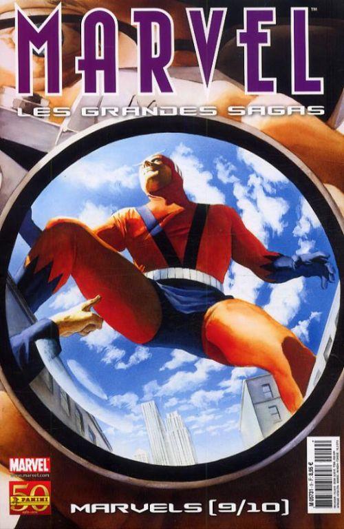 Marvel : Les grandes sagas T9 : Marvels (9/10) - Avengers (0), comics chez Panini Comics de Douglas, Busiek, Immonen, Nelson, Perez, Smith, Crossley