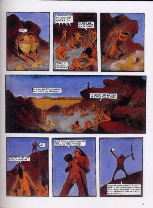 Hiram Lowatt et placido T1 : La Révolte d'Hop-Frog (0), bd chez Dargaud de David B., Blain