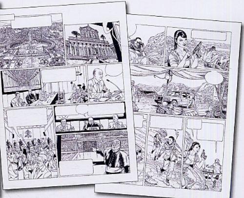 L'agence T5 : Le Tombeau de Paul (0), bd chez Casterman de Bartoll, Frisco, Khattou