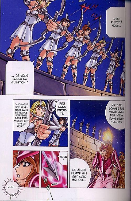Saint Seiya - Next Dimension T2, manga chez Panini Comics de Kurumada