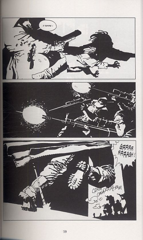 Point de rupture T4, comics chez Delcourt de Trillo, Risso