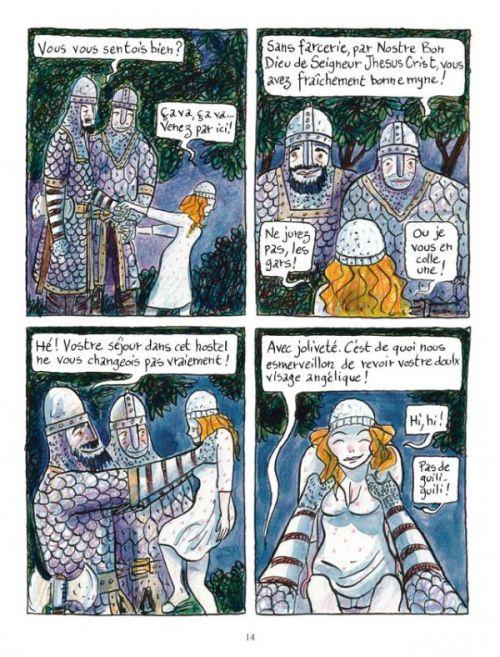 Ursula, vers l'amour et au-delà, bd chez Delcourt de Bernard