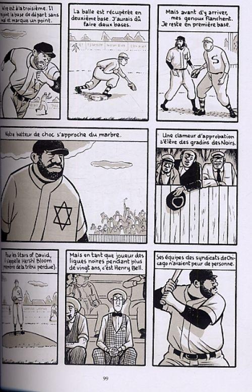 America : The revival - Cent pieds sous la lumière du  jour - Le swing du golem (0), comics chez Delcourt de Sturm