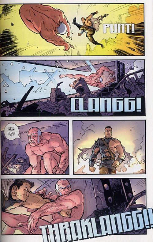 Brit T1 : Baroudeur (0), comics chez Delcourt de Kirkman, Moore, Rathburn, Staples