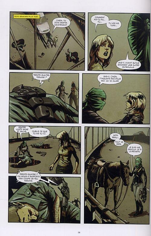 Nola, comics chez Emmanuel Proust Editions de Gorak, Cothran, Couceiro, Tumburus