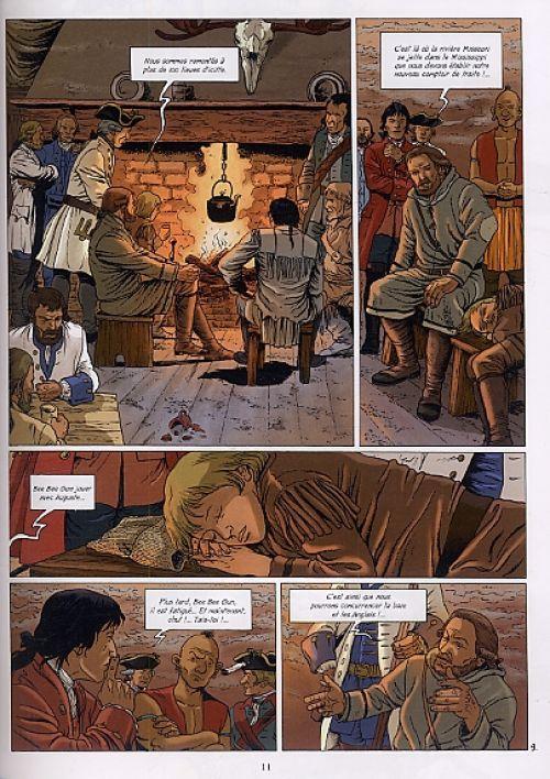 Les pionniers du nouveau monde T18 : Le Grand Rendez-vous (0), bd chez Glénat de Charles, Charles, Ersel, Kattrin