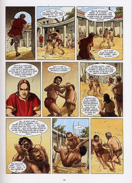 Carthage T2 : La Flamme de Venus (0), bd chez Soleil de Lassablière, David, Koehler, Lubière
