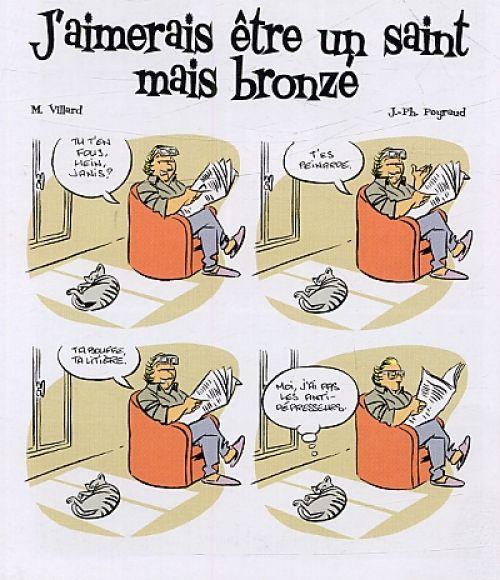J'aimerais être un saint, mais bronzé, bd chez Treize étrange de Villard, Peyraud