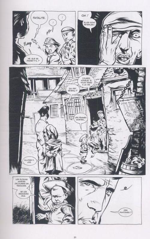 Jenny Finn, comics chez Emmanuel Proust Editions de Nixey, Mignola, Dalrymple