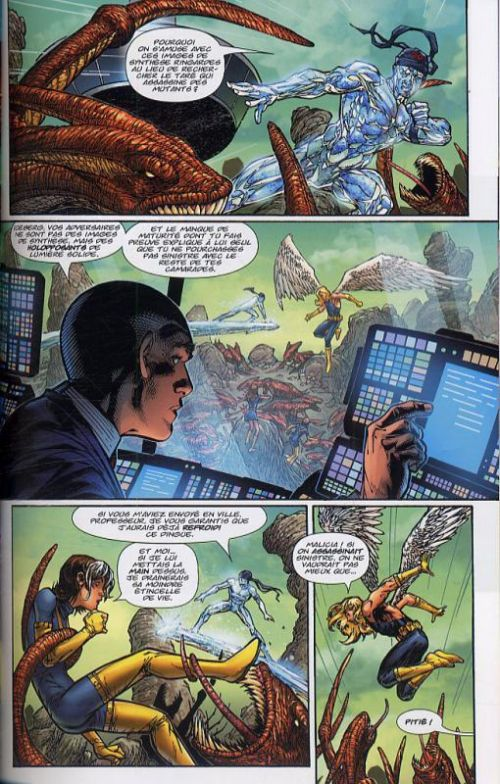 Ultimate X-Men – Deluxe, T5 : Un jeu dangereux (0), comics chez Panini Comics de Vaughan, Kubert, Peterson, Immonen, d' Armata, Ponsor