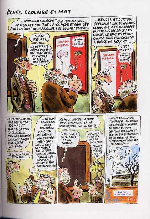 Les sales blagues de l'écho T12, bd chez Albin Michel de Vuillemin