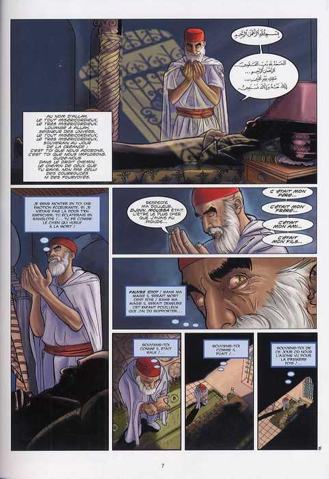 Hadj Moussa T1 : Le Fils du fossoyeur (0), bd chez Soleil de Boudjellal, Leïz