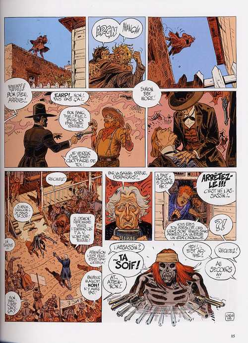 Blueberry – cycle 10 : Tombstone, T28 : Dust (0), bd chez Hachette de Charlier, Giraud, Smulkowski