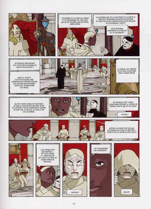 Morgana T3 : Les deux phénix (0), bd chez Les Humanoïdes Associés de Enoch, Alberti