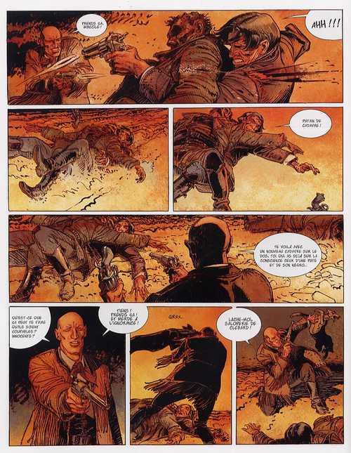 Bouncer – cycle 1, T4 : La vengeance du manchot (0), bd chez Les Humanoïdes Associés de Jodorowsky, Boucq, Gérard