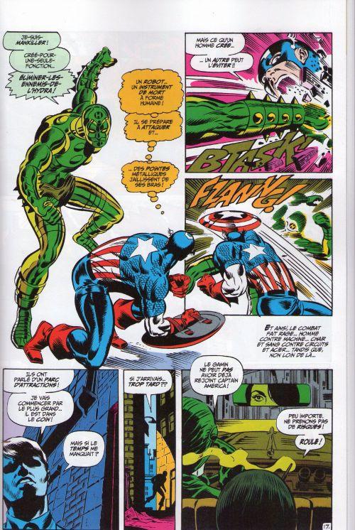Marvel Classic – V 1, T3 : Captain America (0), comics chez Panini Comics de Simon, Lee, Kirby, Jim Steranko ou Steranko