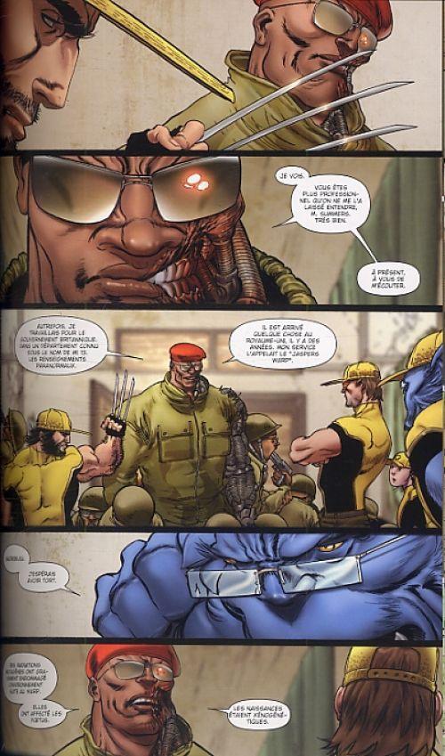 Astonishing X-Men : Xénogenèse (0), comics chez Panini Comics de Ellis, Andrews, d' Armata