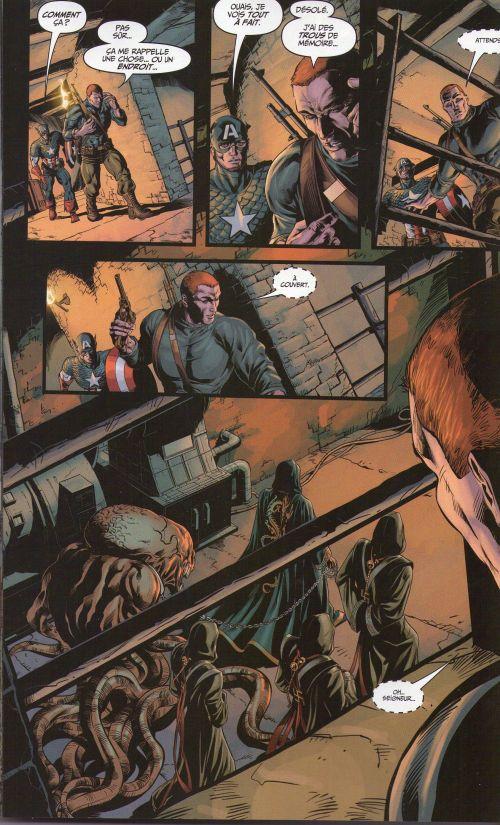 Marvel Stars T9 : Histoire de fantôme (0), comics chez Panini Comics de Hickman, Parker, Davis, Brubaker, Vitti, Farmer, Walker, Conrad, Imaginary friends studio, Martin, Beredo, Rodriguez, Deodato Jr