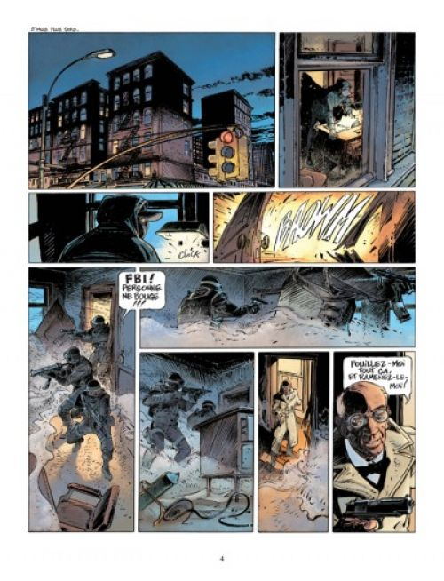 XIII Mystery T4 : Colonel Amos (0), bd chez Dargaud de Alcante, Boucq, Marquebreucq
