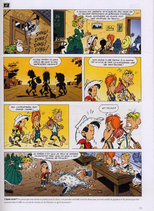 Kid Lucky T1 : L'apprenti cow-boy (0), bd chez Lucky Comics de Achdé, Mel