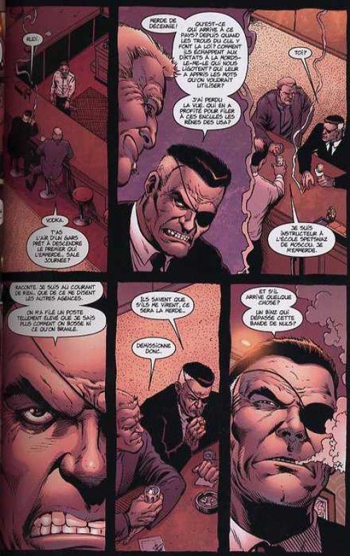 Fury T1 : Lève-toi et marche (0), comics chez Panini Comics de Ennis, Robertson, Avalon studios, Palmiotti, Sienkiewicz