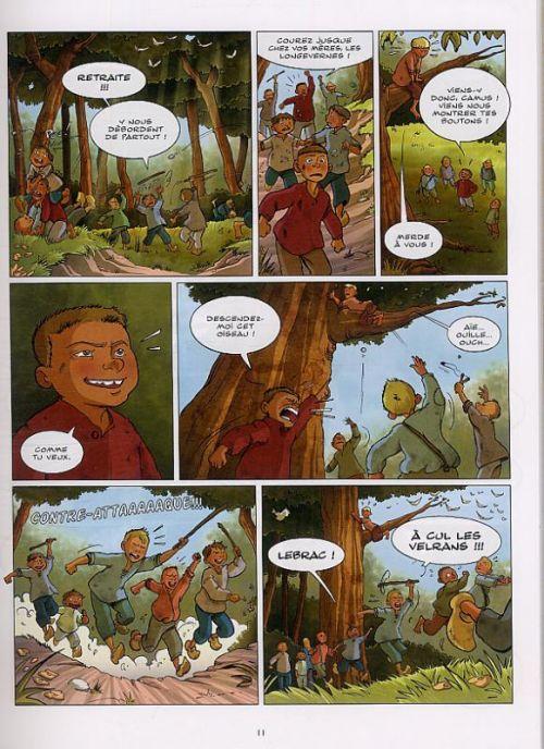 La Guerre des boutons, bd chez Vents d'Ouest de Lemoine, Cécile, Kaori