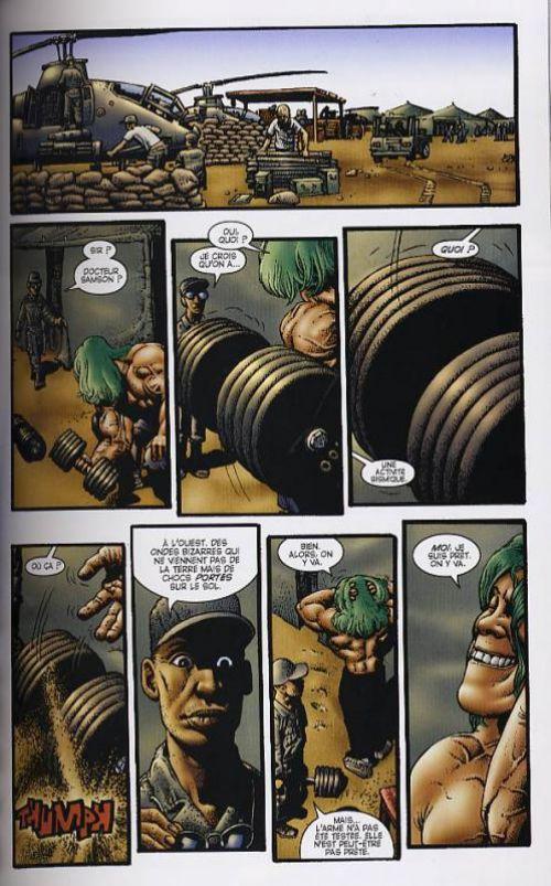 Hulk – 100% Marvel, T2 : Banner (0), comics chez Panini Comics de Azzarello, Corben, Studio F