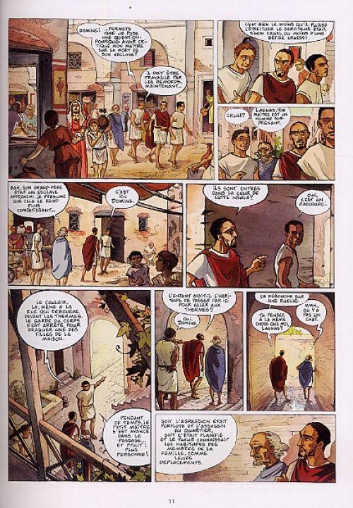 Les Ombres du Styx T1 : Le maître de l'éternité (0), bd chez Delcourt de Dethan