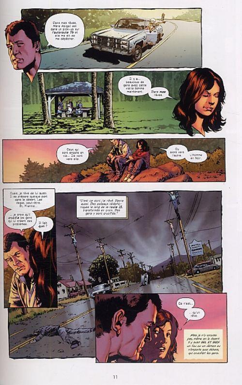Le fléau T6 : Mère Abigail (0), comics chez Delcourt de Aguirre-Sacasa, Perkins, Martin, Bermejo