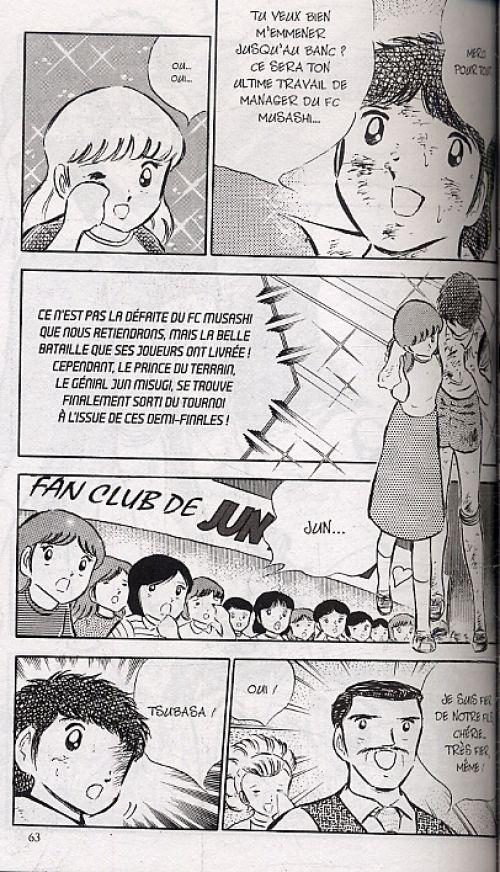 Captain Tsubasa T9, manga chez Glénat de Takahashi