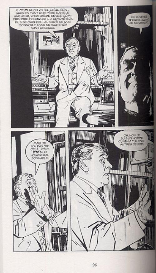 Les sentiers de la perdition T1, comics chez Delcourt de Collins, Rayner