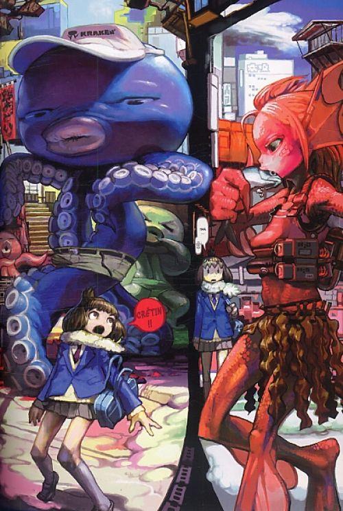 Robot T8, manga chez Glénat de Kawayoo, Nagasawa, Sabe, Neonvision, Roboinu, Murata, Itou, Miggy, Maeshima, Yamamoto, Fujiwara, Imperial boy, Abe, Inuburo, Yonekura, Kozaki