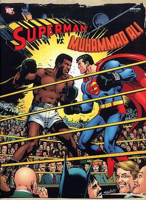 Superman vs. Muhammad Ali, comics chez Atlantic de O'neil, Adams, Adams
