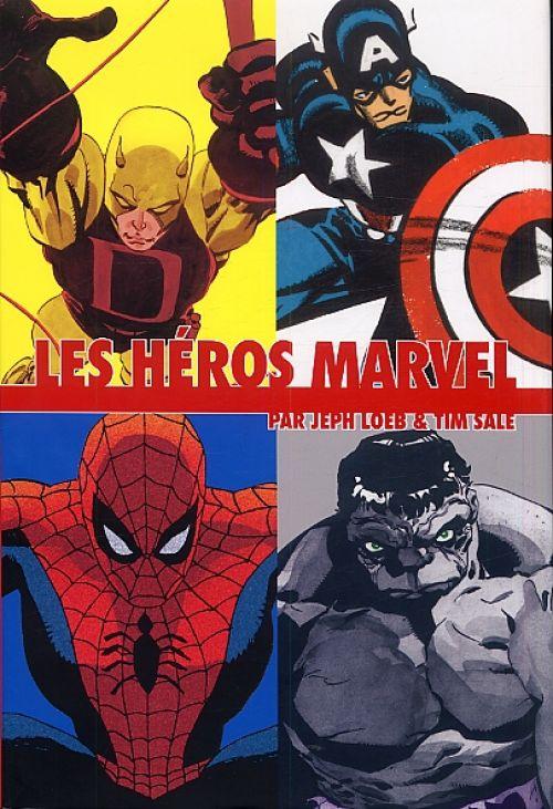 Les Héros Marvel, comics chez Panini Comics de Loeb, Sale, Stewart, Buccellato, Hollingsworth
