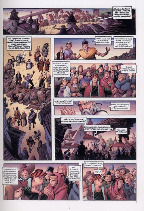 Les conquérants de Troy T3 : La Bataille de Port-Fleuri (0), bd chez Soleil de Arleston, Tota, Lamirand