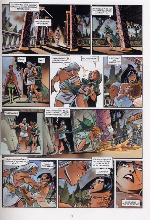 Cixi de Troy T3 : Le Secret de Cixi (0), bd chez Soleil de Arleston, Floch, Vatine, Lamirand, Guth