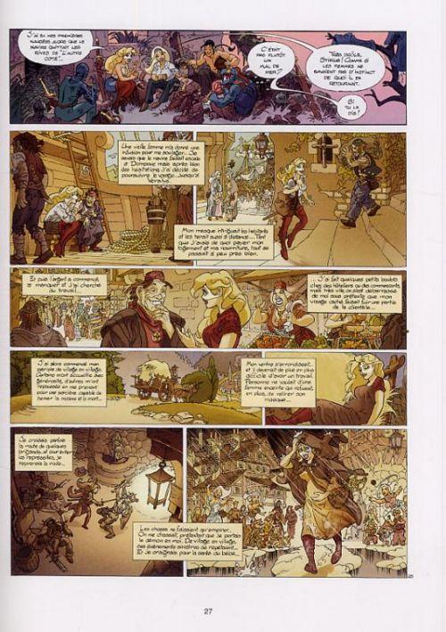 Marlysa T11 : Les Nonnes Noires (0), bd chez Soleil de Gaudin, Danard, Guillo