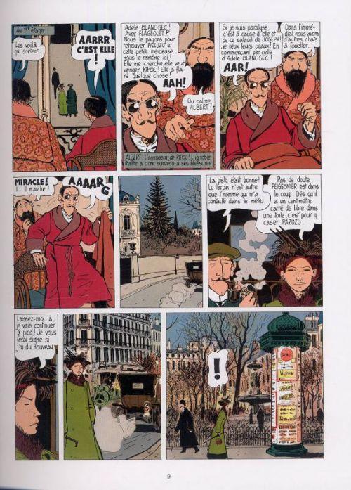 Adèle Blanc-Sec T2 : Le démon de la tour Eiffel (0), bd chez Casterman de Tardi, Delobel