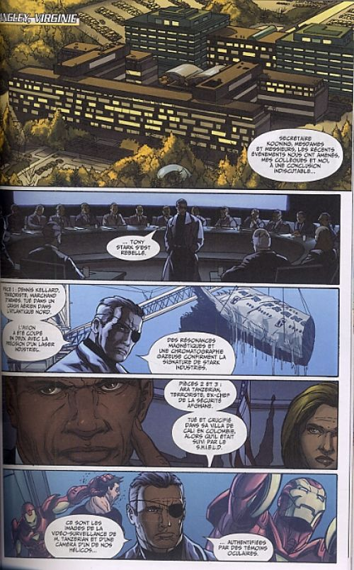 Iron Man - Best comics T1 : Programme exécution (0), comics chez Panini Comics de Knauf, Knauf, Zircher, Fabela, Granov