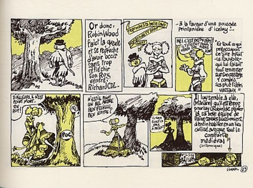 Robin des pois à Sherwood, bd chez Dargaud de F'murrrrr