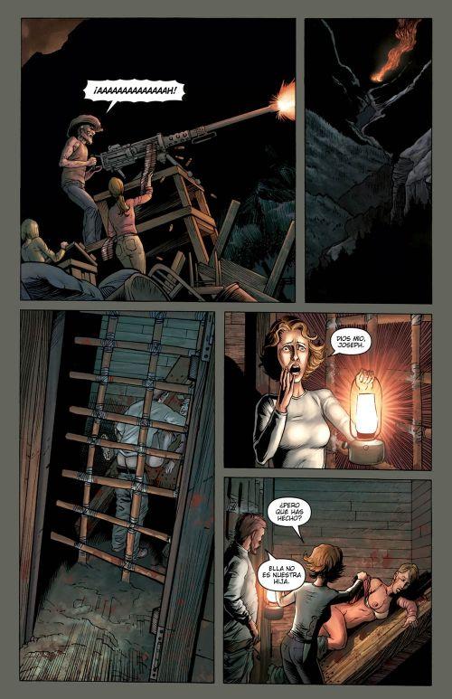 Crossed T3 : Valeurs familiales (0), comics chez Milady Graphics de Lapham, Barreno, Digikore studio, Hugonnard-Bert, Burrows