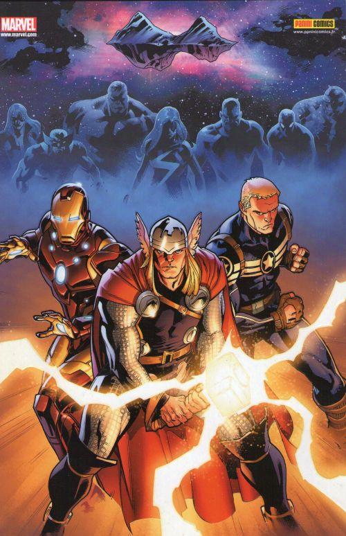 Fear Itself T1 : The Serpent (0), comics chez Panini Comics de Fraction, Immonen, Martin, Morales, McNiven