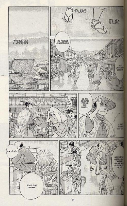 Furari, manga chez Casterman de Taniguchi