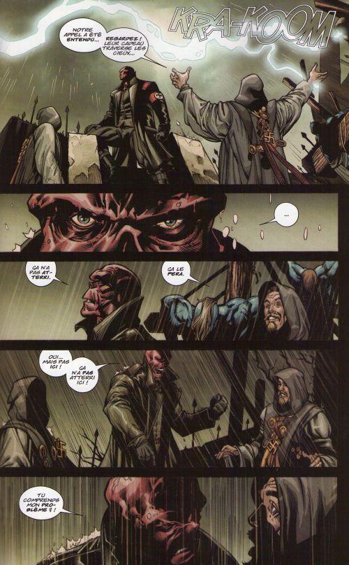 Marvel Stars - Hors série T1 : Fear Itself (0), comics chez Panini Comics de McCann, Brubaker, Landini, Eaton, Gho, Sotomayor, Djurdjevic