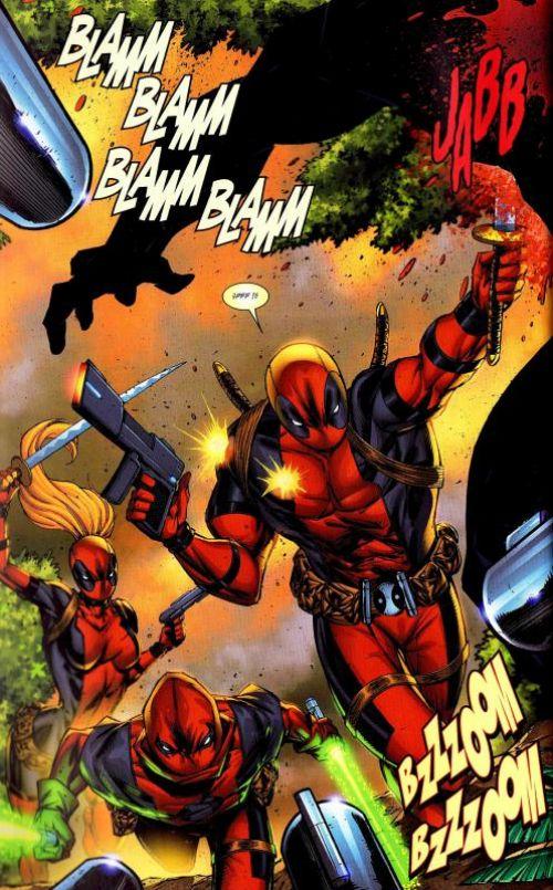 Deadpool Corps T2 : Révolution ! (0), comics chez Panini Comics de Gischler, Mychaels, Liefeld, Yackey